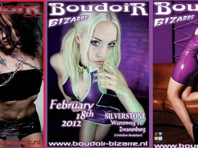 Boudoir-bizarre fetish party – Amsterdam